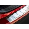 Накладка на задний бампер (полированная) для Mazda Cx-5 2012-2017 (Avisa, 35711)