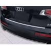 Накладка на задний бампер (полированная) для Audi Q7 2006-2015 (Avisa, 35730)