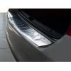 Накладка на задний бампер (полированная) для Skoda Rapid 2012+ (Avisa, 35771)