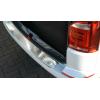 Накладка на задний бампер (полированная) для Volkswagen Transporter/Caravelle (T6) 1дв версия 2015+ (Avisa, 35975)