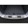 Накладка на задний бампер (полированная) для Peugeot 5008 2009-2017 (Avisa, 35991)