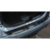 Накладка на задний бампер (черный сатин.) для Nissan X-Trail III 2014-2017 (Avisa, 45133)