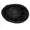 Решетка в бампер (левая, заглушка п/тум.) для Nissan Qashqai 2014-2017 (Avtm, 5036913)