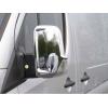 Накладки на зеркала (пластик, 2 шт.) для Mercedes Sprinter 2006-2018 (Carmos, car0102)