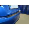 Защитная пленка на задний бампер (карбон, 1 шт.) для Ford Fiesta VIII 2017+ (Nata-Niko, KZ-FO34)