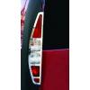 Хром накладки на стопы (нерж., 2 шт.) для Fiat Doblo I 2001-2005 (Carmos, car5094)