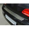 Накладка с загибом на задний бампер для Ford Fiesta VIII 2017+ (NataNiko, Z-FO34)