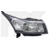 Передняя оптика (правая фара, черн.рамка) для Chevrolet Cruze 2009-2015 (Fps, 1711 R4-P)