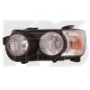 Передняя оптика (левая фара, черн. окуляр) для Chevrolet Aveo (T300) Sd/Hb 2012+ (Fps, 1712 R1-P)