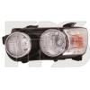 Передняя оптика (левая фара, хром. окуляр.) для Chevrolet Aveo (T300) Sd/Hb 2012+ (Fps, 1712 R3-P)