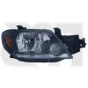 Передняя оптика (правая фара, хром рамка) для Mitsubishi Outlander 2003-2005 (Fps, 3733 R02-P)