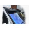 Козырек на лобовое стекло (черный глянець, 5мм) для Mercedes Vito (W638) 1996-2003 (Ddu, cpf020)