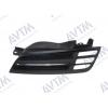 Решетка радиатора (черн./хром. лев.) для Nissan Micra (K12) 2003-2005 (Avtm, 185008991)