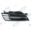 Решетка радиатора (черн./хром. прав.) для Nissan Micra (K12) 2003-2005 (Avtm, 185008992)