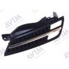 Решетка радиатора (черн./хром. лев.) для Nissan Micra (K12) 2005-2008 (Avtm, 185008993)