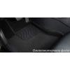Коврики 3D в салон (ворс., серый, 5 шт.) для Subaru Forester 2012-2018 (Seintex, 87518)