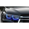 Передняя альтернативная оптика (Дхо, Full Led) для Toyota Highlander (XU50) 2017+ (Junyan, TY025-B6WL1-BL2)