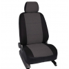 Чехлы в салон (Жаккард, темно-серый) для Mazda 3 Hb 2013+ (Seintex, 86691)