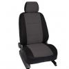 Чехлы в салон (Жаккард, темно-серый) для Subaru Forester IV 2012+ (Seintex, 86742)