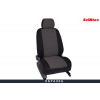 Чехлы в салон (Жаккард, темно-серый) для Mitsubishi Outlander Xl/Peugeot 4007 2006-2012 (Seintex, 88719)