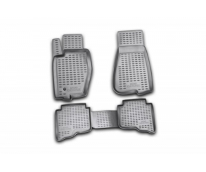 Коврики в салон (полиуретановые, 4 шт.) для Toyota Land Cruiser 200 2012-2015 (Novline, FORMAT.48.53.210k)