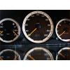 Кольца в щиток приборов (алюм., 3 шт., дорестайл) для Mercedes-Benz C-class (W202) 1993-1997 (Dido-tuning, 11merc202)