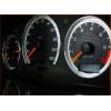 Кольца в щиток приборов (алюм., 3 шт.) для Mercedes-Benz (W210/W202/W208) 1995-2002 (Dido-tuning, 11merc210)