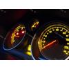 Кольца в щиток приборов (алюм., 3 шт.) для Opel Astra H 2004-2015 (Dido-tuning, 11oplastrh)