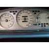 Кольца в щиток приборов (алюм., 4 шт.) для Honda Civic V 1991-1995 (Dido-tuning, 31hondaciv)