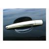 Накладки на дверные ручки (нерж., 4 шт.) для Mercedes C-class (W203) 2001-2007 (Carmos, car8107)