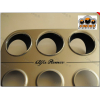 Кольца в щиток приборов (алюм., 3 шт.) для Alfa Romeo Gtv 1994-2005 (Dido-tuning, 11alfaGTV)