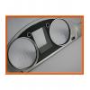 Кольца в щиток приборов (алюм., 2 шт.) для Volkswagen Passat (B7)/Cс 2008+ (Dido-tuning, 11pasb7)