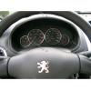Кольца в щиток приборов (алюм., 4 шт.) для Peugeot 206/Partner/Citroen Berlingo 1996+ (Dido-tuning, 11peg206)