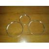 Кольца в щиток приборов (алюм., внутр., 3 шт.) для Seat Leon II/Toledo III/Altea 2004-2009 (Dido-tuning, 11seatle2)