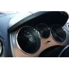 Кольца в щиток приборов (алюм., внешн., 3 шт.) для Seat Toledo III/Altea 2004-2009 (Dido-tuning, 11seattol3)