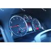 Кольца в щиток приборов (алюм., 4 шт.) для Audi A4 (B5) 1994-2001 (Dido-tuning, 21audia4)