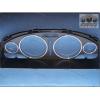 Кольца в щиток приборов (алюм., 4 шт.) для Nissan Maxima 2000-2001 (Dido-tuning, 21nismax)