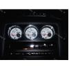 Кольца на доп приборы (алюм., 3 шт.) для Nissan Skyline 1989-1994 (Dido-tuning, 21nissky32)