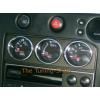 Кольца на доп приборы (алюм., 3 шт.) для Nissan Skyline 1993-1998 (Dido-tuning, 31nissky33)