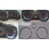 Кольца в щиток приборов (алюм., 3 шт.) для Renault Megane II 2002-2009 (Dido-tuning, 12renmeg)
