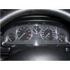 Кольца в щиток приборов (алюм., 5 шт.) для Peugeot 406 1995-1999 (Dido-tuning, 21peg406)