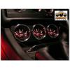 Кольца на доп приборы (алюм., 3 шт.) для Audi 80 (B4) 1991-1994 (Dido-tuning, 31audi80)