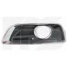 Решетка в бампер (левая, c отв. п/тум.) для Chevrolet Malibu 2012-2014 (Avtm, 1718911)