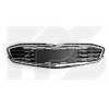 Решетка в бампер (средняя, с хром. молдингами) для Chevrolet Malibu 2016-2019 (Avtm, 1719911)