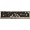 Рамка под номерной знак (хром, с черный надписью Kia Motors) (st-line, kiamot.01)