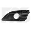 Решетка в бампер (правая, с отв. п/тум. + хром окуляр) для Ford C-Max Hybrid Usa 2013-2017 (Avtm, 2835912)