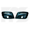 Решетка в бампер (лев+прав, c отв. п/тум.) для Peugeot Partner 2012-2015 (Avtm, 5427911)