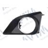 Решетка в бампер (правая, с отв. п/тум. с хромом) для Toyota Corolla 2007-2009 (Avtm, 7015 998C)