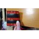 Универсальная (XL) накладка на порог бампера 100x10 см (KAI, 100cm10)