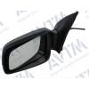 Зеркало боковое в сборе (левое, мех. регул.,грунт., асферич.) для Opel Astra G 1998-2009 (Avtm, 186101437)